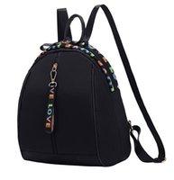kore kanvasının rahat sırt çantası toptan satış-Sırt çantası kadın yeni Kore versiyonu Kore moda vahşi rahat Oxford kanvas çanta bayanlar seyahat küçük sırt çantası