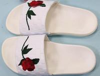 Wholesale leila resale online - Cheap men Women X Leila Hurst sandals fashion upper import elastic cloth soft comfortable foot walking tiptoe is sand face velvet anti skid