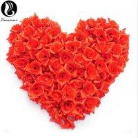 ingrosso petali di rosa rossa artificiali-Petali di rosa per matrimonio Petali di Rosa De Boda