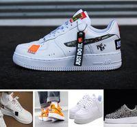 ingrosso forze aeree-2018 New Force ID Air Mens Scarpe da corsa per uomo Sneakers da donna Designer Athletic Sport scarpe da ginnastica Zapatos Chaussures 7-11
