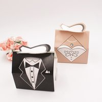 ingrosso scatole regalo del vestito da cerimonia nuziale-Abiti da sposa Abiti da sposa a forma di bomboniere Bomboniere Bomboniere