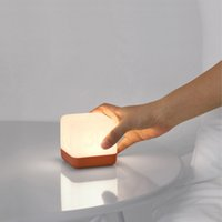 Wholesale led lighted cube tables for sale - Group buy BRELOMG Rubik s Cube Fun Flipping Timed Night Lights Night Feeding Bedroom Warm Energy Saving LED Small Table Lamp pc