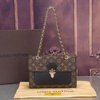 concepteurs de portefeuille femmes achat en gros de-2018 Hot Sale Vintage Handbags Femmes sacs Design Handbags Portefeuilles pour Femmes En Cuir Chaîne Sac Bandoulière Et Sacs À Bandoulière