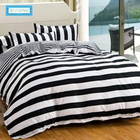 Wholesale super king sized bedding for sale - BEST WENSD Modern Style Bedding Sets Polyester Duvet Cover Set Bed Sheet Pillowcase Twin Full Queen Size King Super Soft