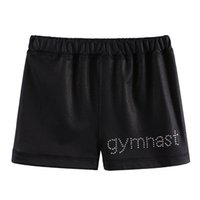 Wholesale children models baby clothing resale online - Newest Model BAOHULU Black Gymnastics Shorts Baby Girls Shorts Children for Girls Cansual Outfit Clothes Years