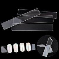 ingrosso pezzi di visualizzazione acrilica-Nu-TATY Cross-border per nail art giapponesi e coreani acrilico display striscia trasparente display pezzo chiodo appiccicoso