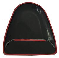 крышки вентиляционных отверстий оптовых-Универсальный черный окрашенные ABS пластик гоночный воздушный поток вентиляционное отверстие Turbo капот совок крышка