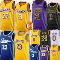 basketball trikot james groihandel-NCAA LeBron James 23 Jersey Crenshaw Anthony 3 Davis James Jersey Universität Kyle 0 Kuzma Kobe Bryant 24 Basketballjerseys S-XXL
