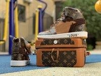 neugeformte müßiggängerschuhe großhandel-2019 marke Sneaker mode rutscht für männer frauen Sneakers Basketball laufschuhe herren weiße trainer neue ankunft loafers größe 5-12