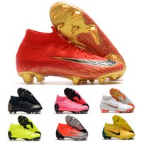 ba361d646 New Original brand Mercurials Superflys VI 360 Elite FG CR7 soccer shoes  fashion football boots sneakers for men