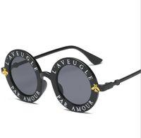 gafas de sol estrella para adultos al por mayor-2019 nuevas mujeres de lujo de diseño de alta calidad de las gafas de sol de las mujeres gafas redondas gafas de sol Gafas de Sol Mujer luneta