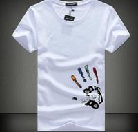 Wholesale tassel tshirts resale online - Men T Shirts Plus Size XL XL Tee Shirt Homme Summer Short Sleeve Men s T Shirts Male TShirts Camiseta Tshirt Homme