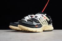 zapatillas de correr precio más bajo al por mayor-2019 OFF-WHITE x Air Nike nuevo 1.1 original Presto V2 Ultra BR TP QS blanco y negro X zapatillas deportivas de bajo precio para damas hombres hombres Airs Prestos zapatos deportivos al aire libre