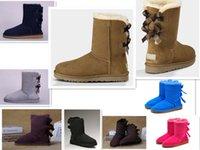 c29975948795 light pink snow boots women Australia - TOP black Australian Style Women Snow  Boots 100%