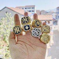 anillo de 1998 al por mayor-2019 al por mayor 1977 1978 1996 1998 2000 2000 2009 Anillo de Campeonato de los Yankees de Nueva York Regale regalos a sus amigos