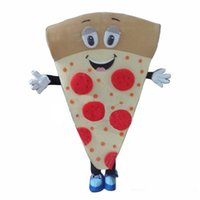 Wholesale full suits for sale for sale - Group buy 2019 factory sale hot PIZZA mascot costume for adults christmas Halloween Outfit Fancy Dress Suit