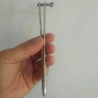 inserção do cateter masculino venda por atacado-Penis Plugs Cateter Uretra Insertion Masculino Aço Inoxidável Uretral Som Oco Tubo / Plugue Sólido Do Pênis Uretra Maca Plugue Pênis Toysex