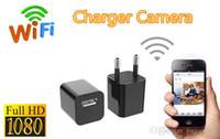 удаленное зарядное устройство для телефона оптовых-1080P небольшой веб-камера мобильного телефона удаленного монитора камеры наблюдения няни детское зарядное устройство зарядное устройство головы камеры