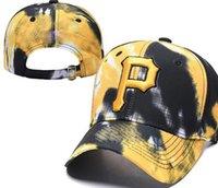 logotipo pirata venda por atacado-Snapback piratas Caps P Logo chapéu cap Strapback Training Camp mulheres de beisebol ajustável homens chapéu snapbacks americano Cidade tampão de saída