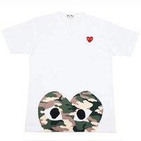 t-shirts les plus drôles achat en gros de-Mens Designer Tshirts De Luxe Femmes Tshirt Vente Chaude À Manches Courtes Tees Coeur Imprimer Drôle T-shirt
