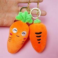 Wholesale dolls body for sale - Group buy Creative Simulation Plan Carrot Plush Toys Soft Body Carrots Stuffed Toy Fragrance Small Pendant For Kids Gift
