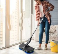 Wholesale hand push sweepers resale online - Electric rotary mop electric sweeper foreign trade household appliances hand push smart home appliance mopping machine