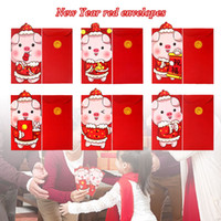 Wholesale chinese new year accessories for sale - Group buy Paper Festival Accessories Money Envelopes Exquisite Best Wishes Home Decor Chinese New Year Lovely Good Luck Cartoon