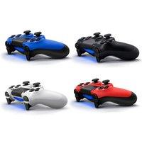daha fazla oyun toptan satış-Kablosuz Bluetooth Denetleyicisi PS4 Titreşim Joystick Gamepad Oyun Denetleyicisi Perakende kutusu Ile Sony Play Station için Daha Renkler