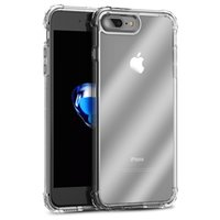 Wholesale ipaky back case for iphone resale online - iPaky Case For iPhone Plus Transparent Back Cover High Clear PC TPU Drop proof Hard Soft Cases With Package Stock