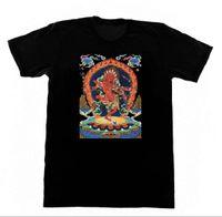 zen frauen großhandel-Männer T Shirt rot Tara Shirt R3 Buddha Yoga Meditation Zen buddhistische okkulte Hexerei T-Shirt Neuheit Tshirt Frauen