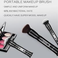 productos de herramientas de poder al por mayor-USB maquillaje eléctrico del sistema de cepillo del maquillaje facial Y Cepillos Herramientas de alimentación del cosmético del cepillo de la herramienta de belleza Productos HHAa190