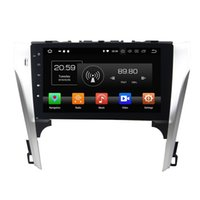 Wholesale toyota camry mp3 player for sale - Group buy PX5 GB RAM GB ROM Android Octa Core din quot Car DVD Radio GPS for Toyota Camry Bluetooth WIFI USB Mirror link