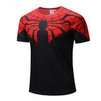 superman de fantasia venda por atacado-soldado New Batman Spiderman Ironman Superman Capitão América inverno camiseta Marvel T mens Avengers traje Comics super-herói