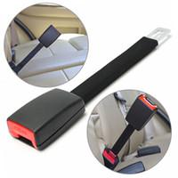 Wholesale seat buckles resale online - 1PCS Adjustable cm Car Universal Seat Belt Extension Auto Belts Extender Durable Car Safety Seat Belt Buckle Clip Car Styling