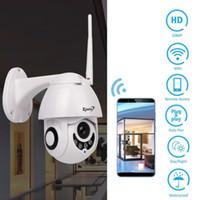 vitesse de caméra dôme wifi achat en gros de-Caméra de sécurité Caméras de sécurité IP extérieur de dôme de télévision en circuit fermé de vitesse de caméra IP de PTZ d'IP 1080p IP WI-FI extérieur 2MP IR à la maison Surveilance