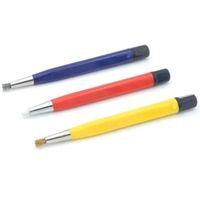 kalemler saatler toptan satış-3 Adet / grup Fırça Kalemler Cam Elyaf / Pirinç / Çelik Fırça Sticker Kalem Şekli İzle Parçaları Polonya Ve Pas Temiz Kaldırma Aracı