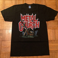 204284e54a7a RARE-METAL CHURCH t shirt - vintage the human factor would tour 1991  Christmas@ Funny free shipping Unisex Casual Tshirt