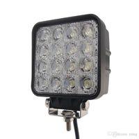 faisceau de lumière inondation achat en gros de-4,5 pouces 48W LED Light Work 12V 24V Flood LED spot faisceau de lumière de voiture pour Off Road LED Lampes de travail pour les camions