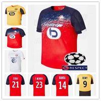 üst kulüp forması toptan satış-2019 2020Tayland LOSC Lille futbol formaları Lille Olympique Sporting Club futbol forması PEPE REMY BAMBA R. LEAO IKONE maillot de foot tops
