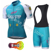 Wholesale Ropa Ciclismo Hombre Quick step cycling jersey summer Racing bicycle MTB Pro team short sleeve Breathable cycling clothing A17