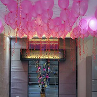 Wholesale pink purple balloons wedding for sale - Group buy 100pcs inch Latex Balloons Colors Inflatable Round Air Ball Wedding Happy Birthday Party Balloons Decoration