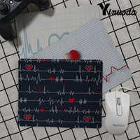 Wholesale games nurses resale online - Yinuoda Simple Design Nurse Medical Medicine Health Heart small Mouse pad PC Computer mat Simple Design Speed Game Mouse Pads