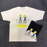 geração de algodão venda por atacado-2019 EUA Asap Rocky Ferido Geração Tour Merch Tee Hip Hop Dos Desenhos Animados de Manga Curta T Shirt homens Mulheres de Skate Street Cotton Casual tee