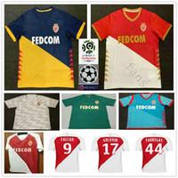ce33f266a Wholesale monaco jersey online - 2019 AS Monaco Soccer Jerseys FALCAO  JOVETIC GOLOVIN FABREGAS Custom Home