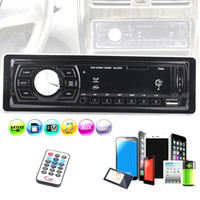 Wholesale slot cars resale online - Universal Car MP3 Player Card Slot Type Auto Car Stereo Audio In Dash FM Radio Aux Input Receiver Vehicle Radio Player