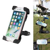 поддержка велосипеда оптовых-Обновление Универсальный Велосипед Держатели Мобильного Телефона Подставка для Велосипеда Мобильный Телефон Поддержка Клип Автомобильный Велосипед Крепление Гибкий Держатель Телефона Для Iphone Samsung GPS
