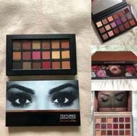 ücretsiz göz farı paletleri toptan satış-November20 2018 Yeni En Yüksek Sürüm Marka Makyaj Paletleri Güzellik 18 renkler göz farı paleti göz farı paletleri 4 Türleri Ücretsiz Kargo