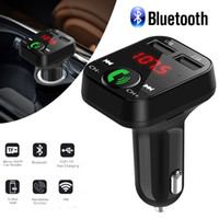 Car Kit Handsfree Wireless Bluetooth FM Transmitter LCD MP3 Player USB Charger 2.1A Car Accessories Handsfree