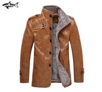 ingrosso giacche 8xl-Giacche di pelle di grandi dimensioni M-8XL Giacca di pelle di coccodrillo Abbigliamento uomo Cappotti invernali Capispalla uomo Abbigliamento di marca Giacca da uomo