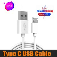 Wholesale note3 cable online – 1M Cable Line Micro Usb Charging Type C Data cable Cord For Samsung Note3 S5 For FT Type C Android Iphone